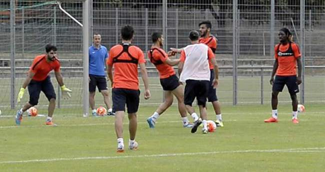 Trabzonspor idmanında kavga!