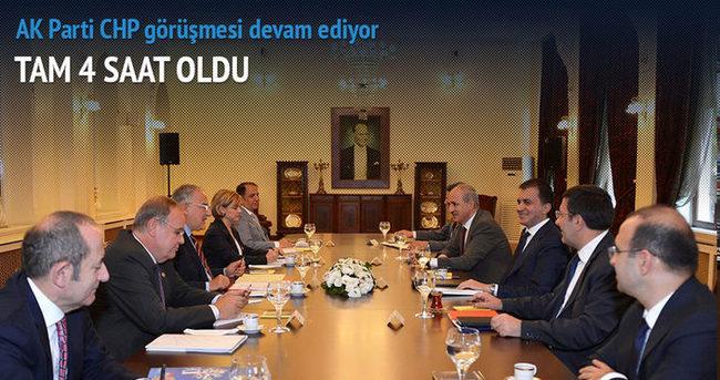 AK Parti ve CHP heyetleri arası ilk görüşme 4 saattir devam ediyor