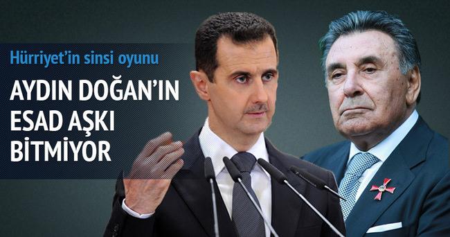 Aydın Doğan'ın Esad aşkı!