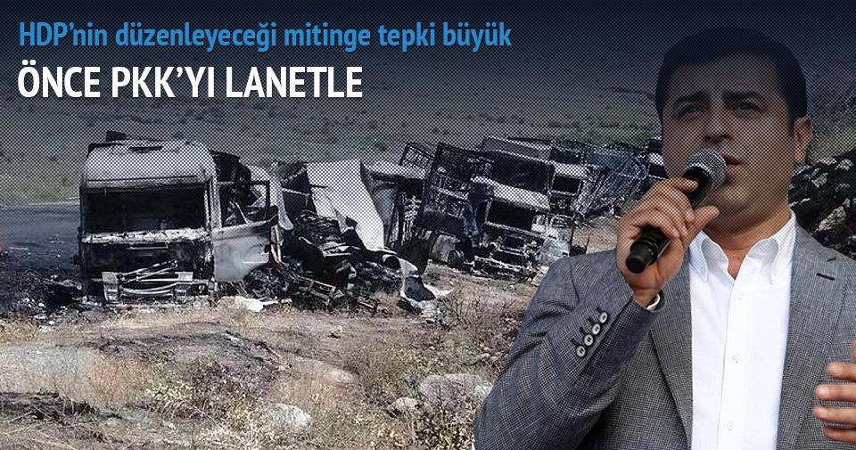 Demirtaş PKK terörünü kınayabilecek mi?