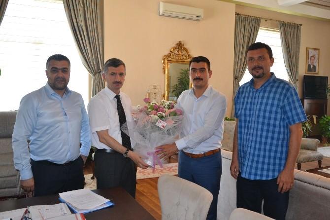 Horozköy Spor Kulübü Yönetiminden Vali Bektaş'a Ziyaret