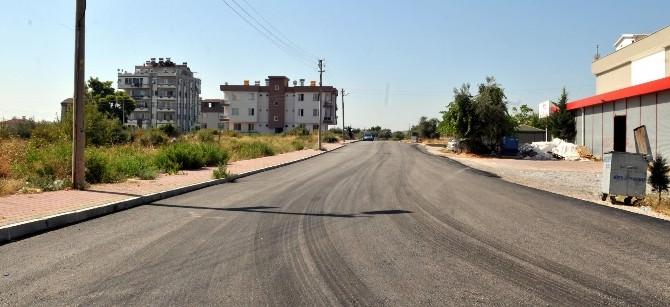 Ayanoğlu'nda 5 Bin 500 Metrelik Yol Asfaltlanıyor