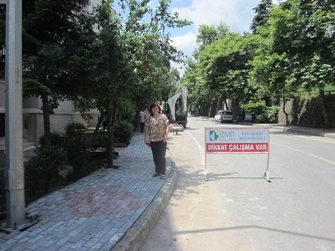 Sedaş'ın Tahrip Ettiği Kaldırımları Belediye Onardı