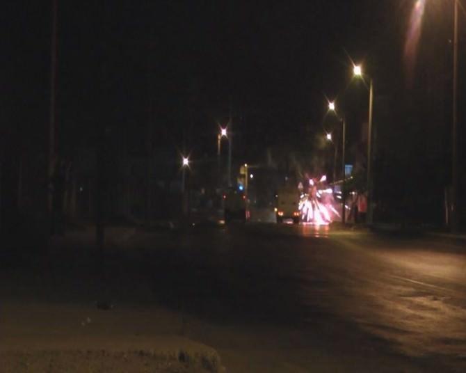 Tarsus'ta Suruç'taki Terör Saldırısını Bahane Eden Göstericilere Polis Göz Açtırmadı