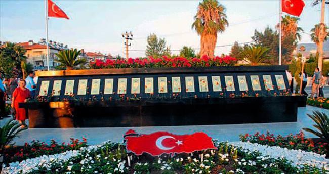 Diplomatlara saygı anıtı