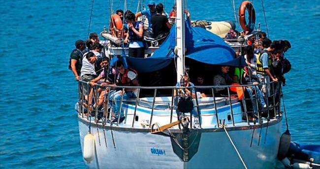 100 mülteci daha yakalandı