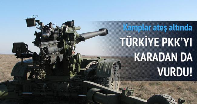 Türkiye PKK'yı karadan da vurdu