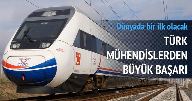 Türk mühendislerinden gemi ve trene ilk doğalgazlı motor