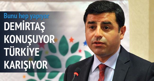 Demirtaş konuşuyor Türkiye karışıyor