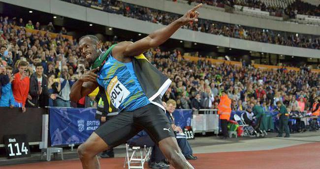 Usain Bolt, Justin Gatlin'e meydan okudu