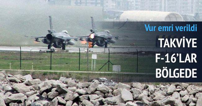 Vur emri verildi! F16'lar Diyarbakır'da