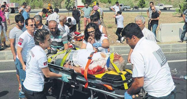 Motosikletler çarpıştı: 2 ölü