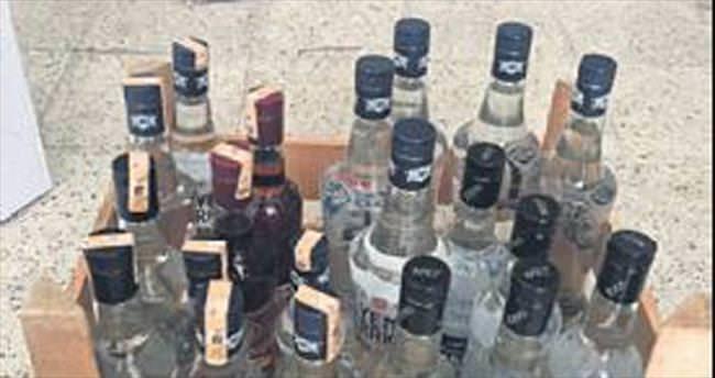 Buca'da kaçak içki ele geçirildi