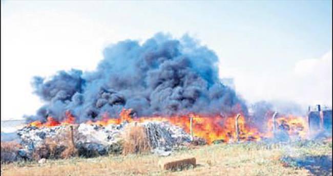 Torbalı'daki yangın maddi zarara uğrattı