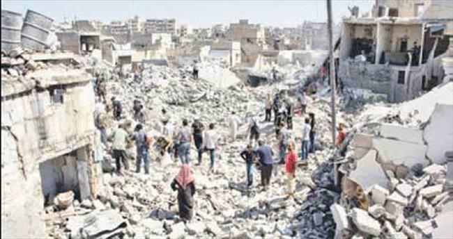 Esad bildiğini okuyor 45 sivil daha öldü