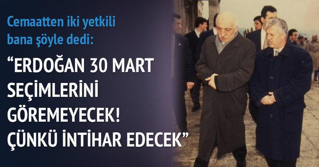 Erdoğan intihar edecek!