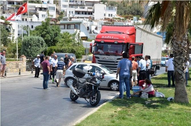 Bodrum'da Kaza Ucuz Atlatıldı