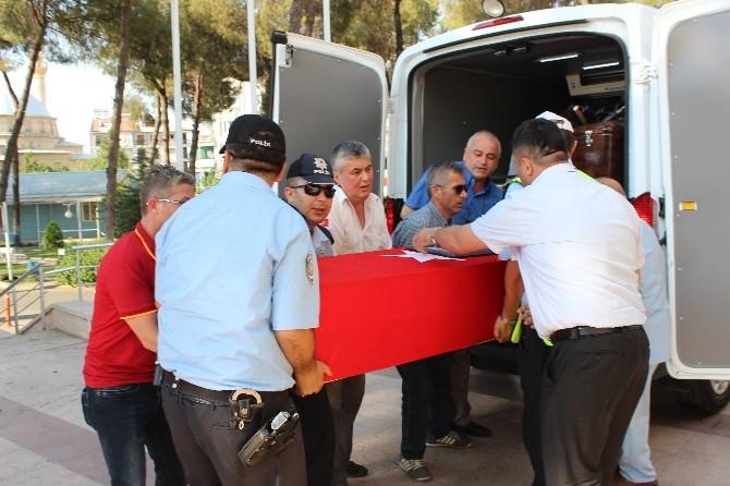 Diyarbakır'da Şehit Olan Jandarma Başçavuşun Cenazesi Salihli'ye Getirildi