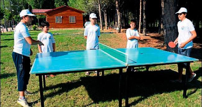 Mersinli gençler Doğa Kampı'nda