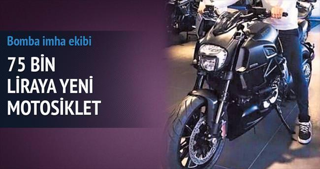 75 bin liraya yeni motosiklet