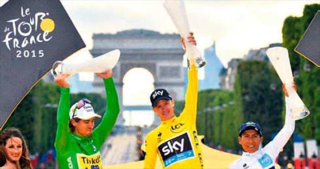 Tour de France'da zafer Froome'un