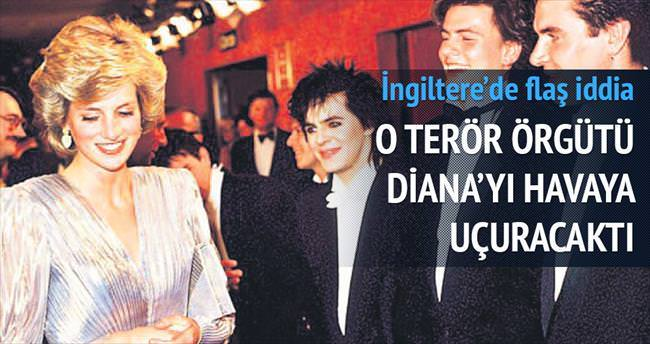 IRA, Leydi Diana'yı havaya uçuracaktı