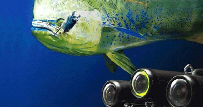 Balık tutmayı eğlenceli hale getiren aksiyon kamerası