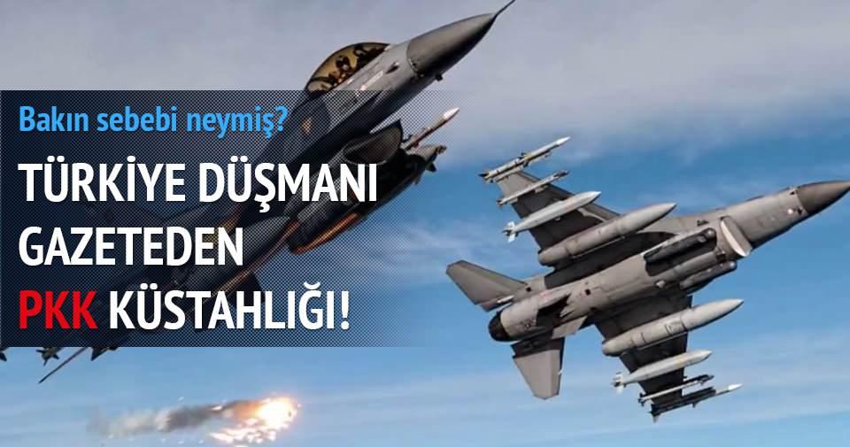 İngiliz gazetesi Times'dan PKK'nın vurulmasına tepki!