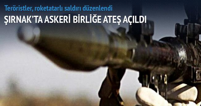 Şırnak'ta Tugay Komutanlığı'na saldırı