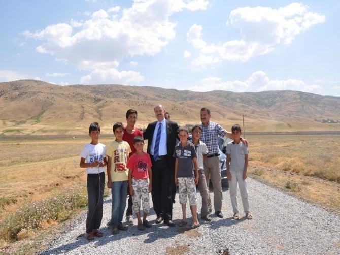 Vali Büyükersoy Köy Yollarını İnceledi