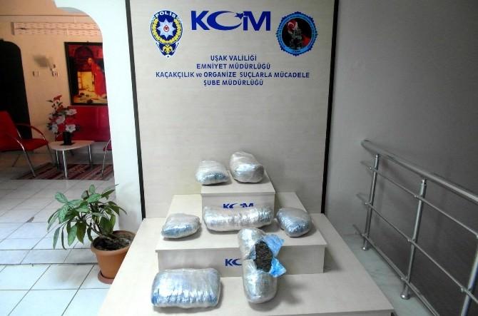 Uşak'takı Uyuşturucu Operasyonunda 3 Kişi Tutuklandı