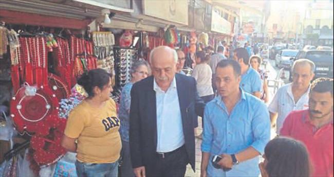 Başkan Seyfi Dingil halkın arasına karıştı