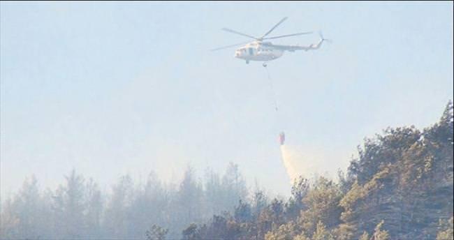 Orman yangınına zamanında müdahale