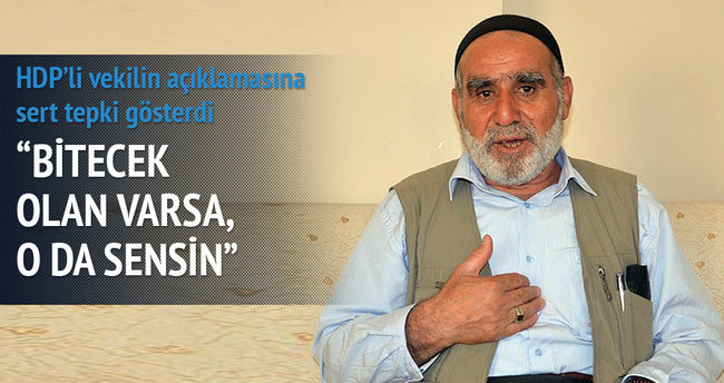 HDP'li Zeydan'ın açıklamasına tepki