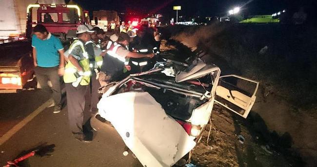 Başkent'te trafik kazası: 5 ölü
