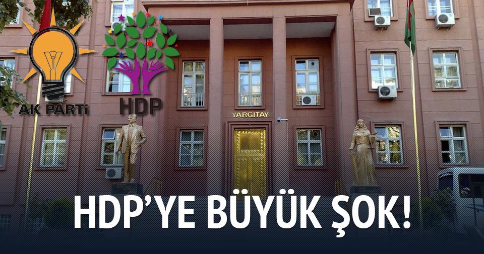 Yargıtay HDP'ye 'terör' incelemesinde bulunacak