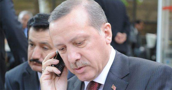Erdoğan'dan, şehit askerin eşine taziye telefonu