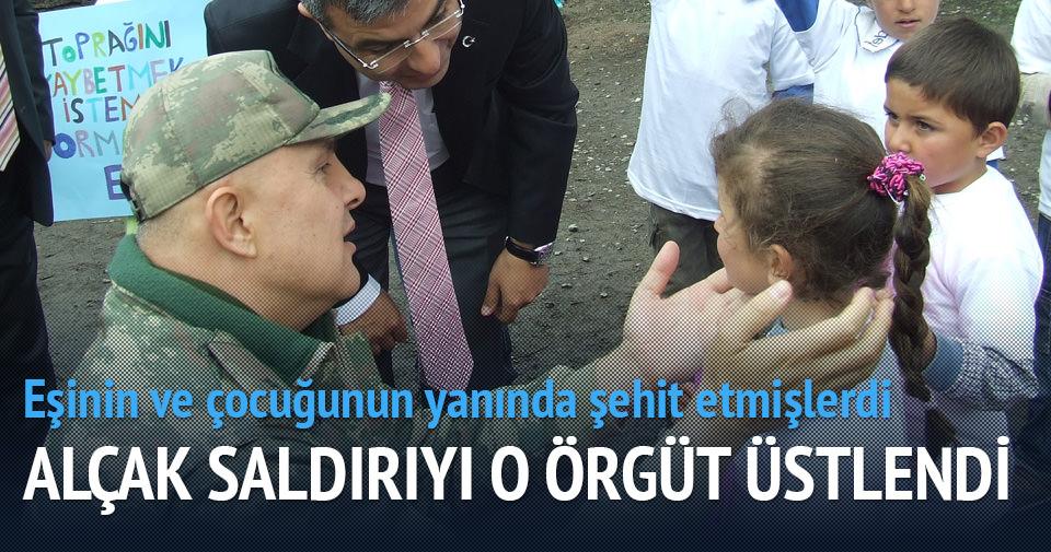 Alçak saldırıyı PKK üstlendi