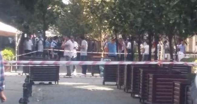 Taksim'de şüpheli paket için alarm verildi!