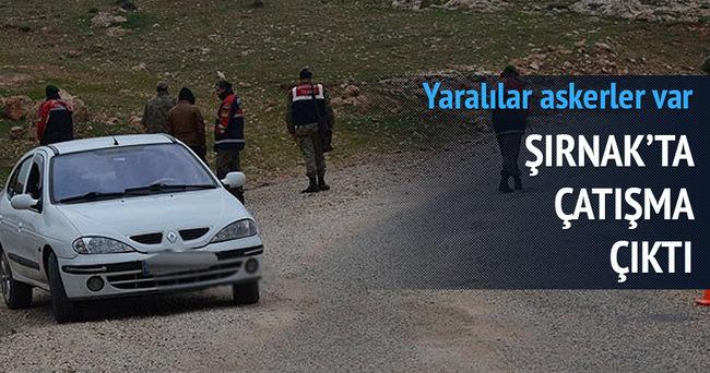 Şırnak'ta çatışma çıktı: Yaralı askerler var