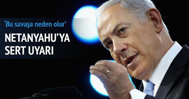 Netanyahu'ya Mescid-i Aksa uyarısı