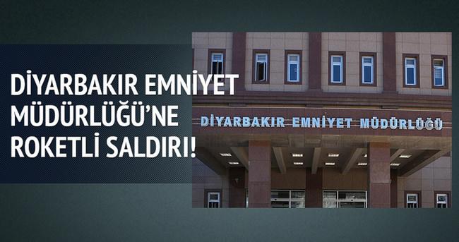 Diyarbakır'da Emniyet Müdürlüğü'ne roketli saldırı