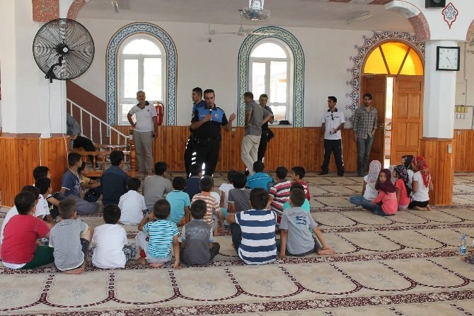Kuran Kursu Öğrencileri Boğulma Vakalarıyla İlgili Bilgilendirildi