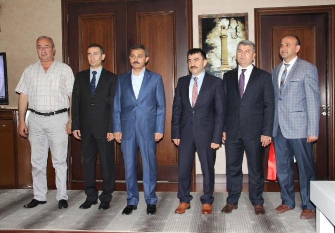 BİK Genel Müdürü Karaca'dan Başkan Külcü'ye Ziyaret