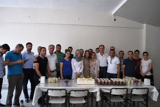 Mardin Dicle EDAŞ'ta Toplu Yaş Günü Kutlaması