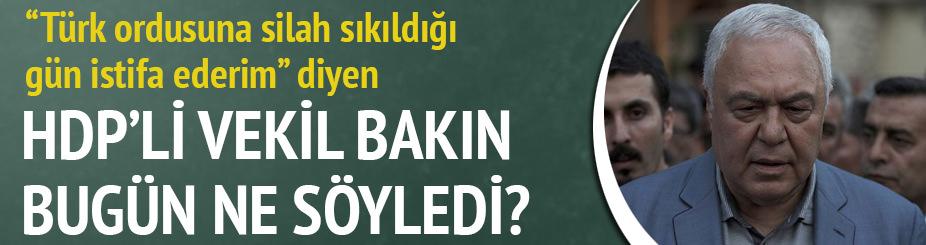 HDP'li vekil Celal Doğan'ın istifası bekleniyor