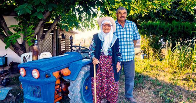103'lük Fatma ninenin sırrı organik beslenme