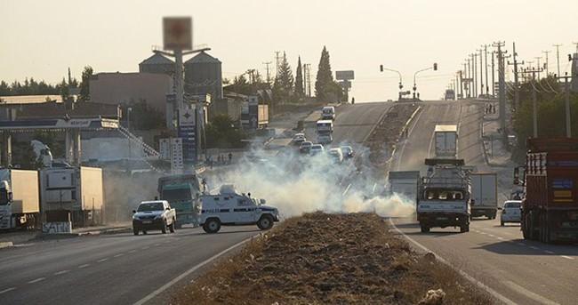 Mardin'de izinsiz gösteri