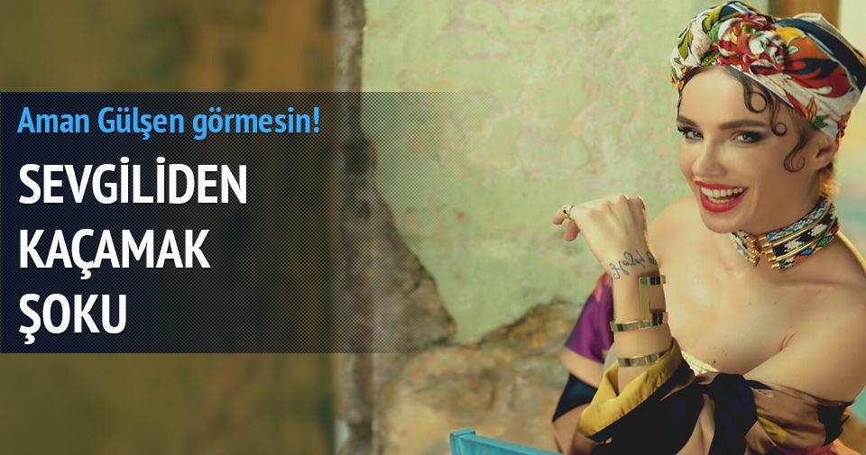 Gülşen'in sevgilisi Ozan Çolakoğlu gecelerde