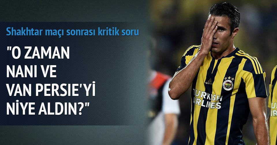 Yazarlar Fenerbahçe-Shaktar Donetsk maçını değerlendirdi